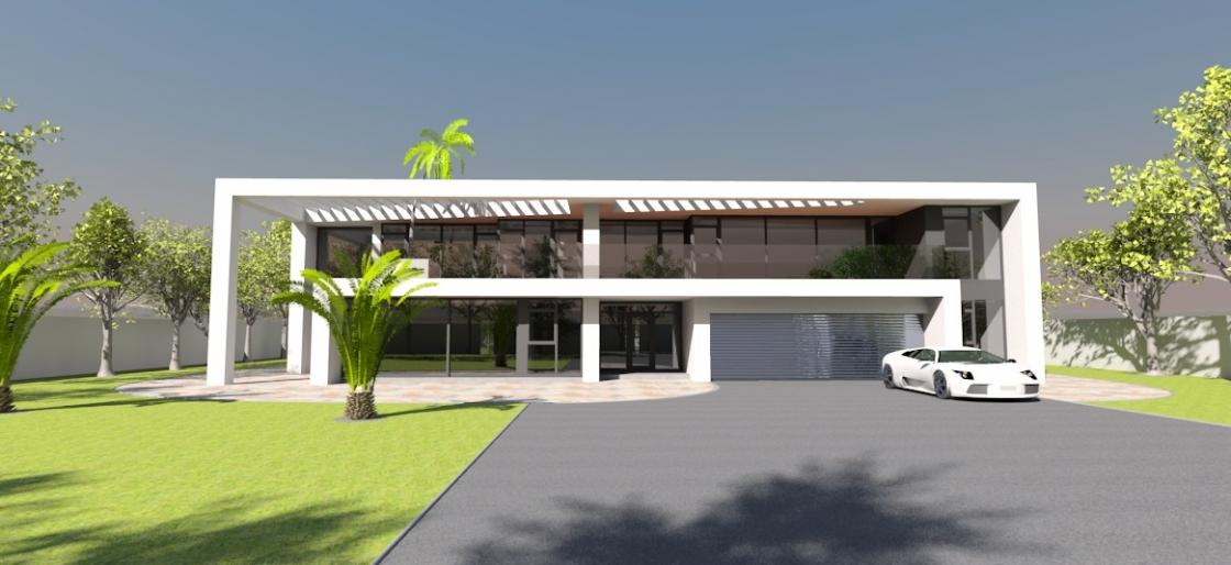 Contemporary home 2004