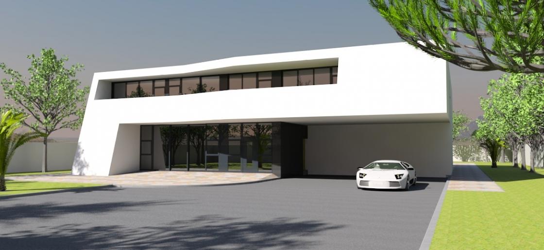 Contemporary home 2005
