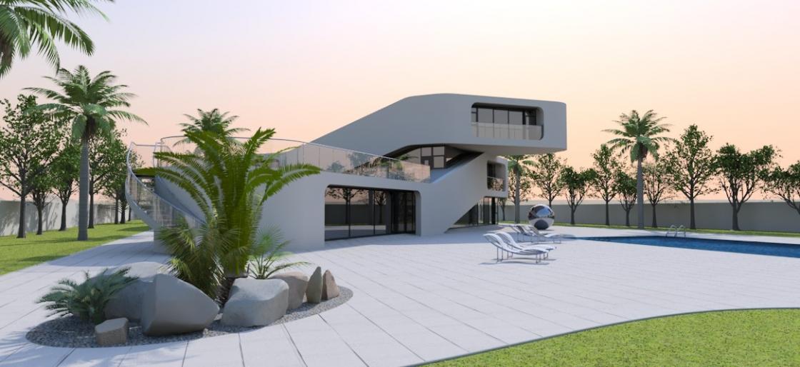 Contemporary home 3010
